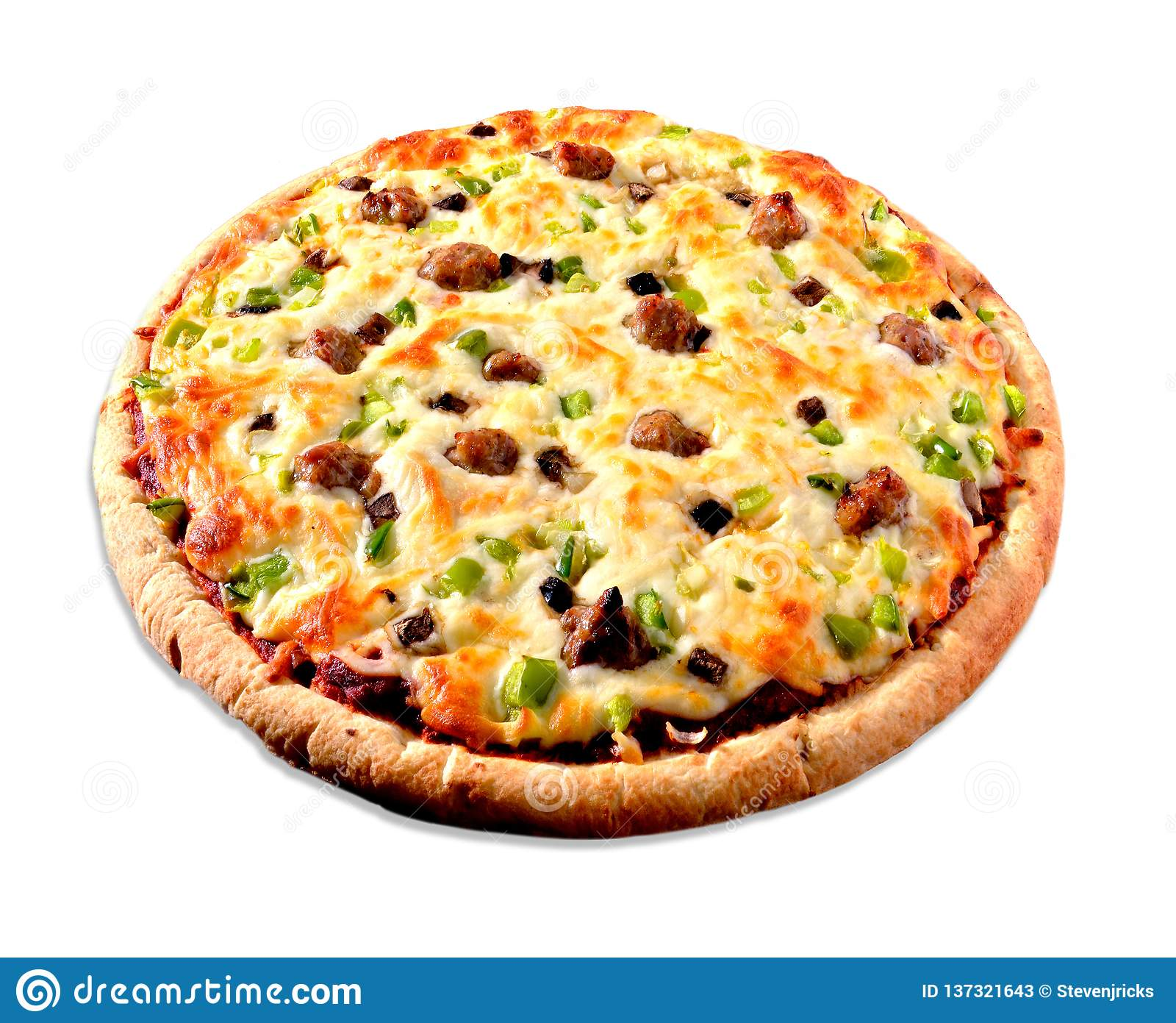 Pizza su bianco