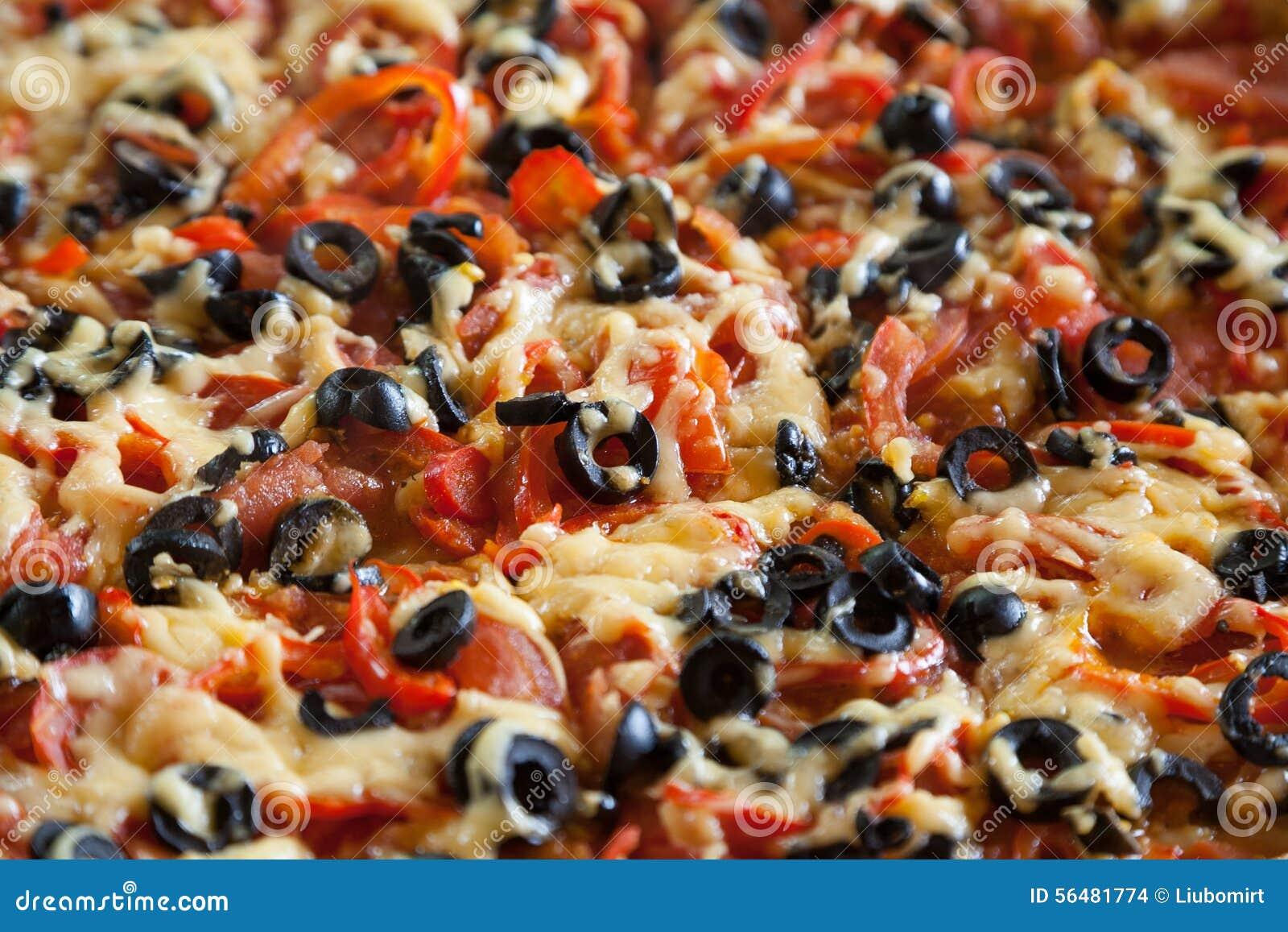 Pizza végétarienne fraîche