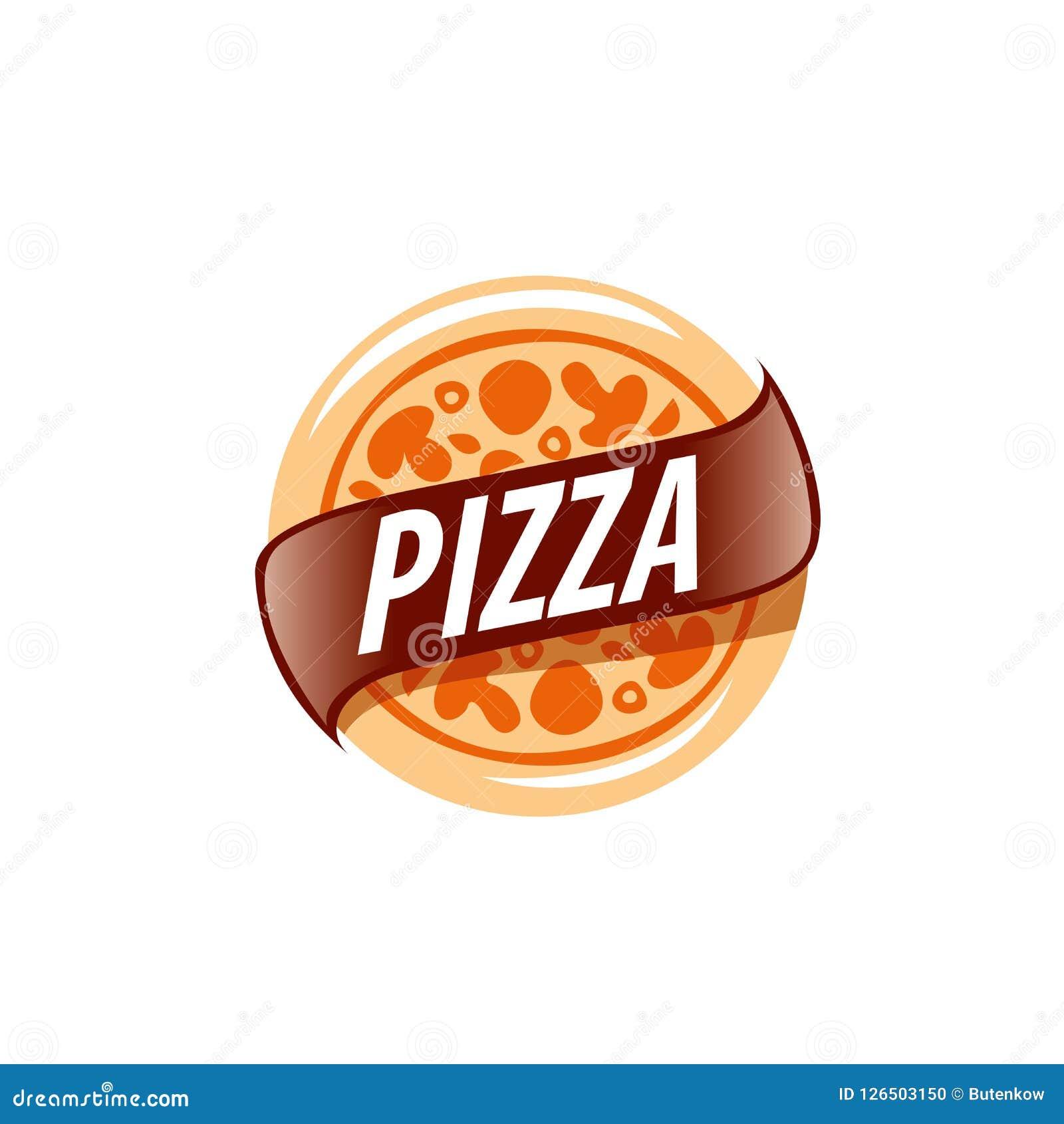 Pizza vector logo stock vector  Illustration of badge - 126503150