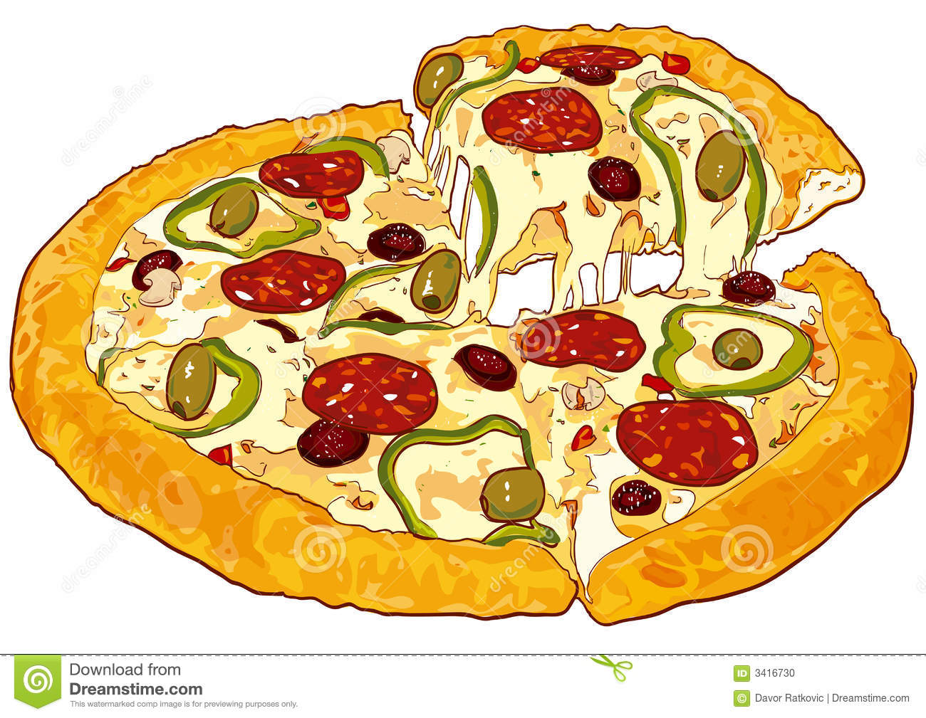 pizza vector version stock photo image 3416730 lunch time clip art or image lunchtime clip art free images