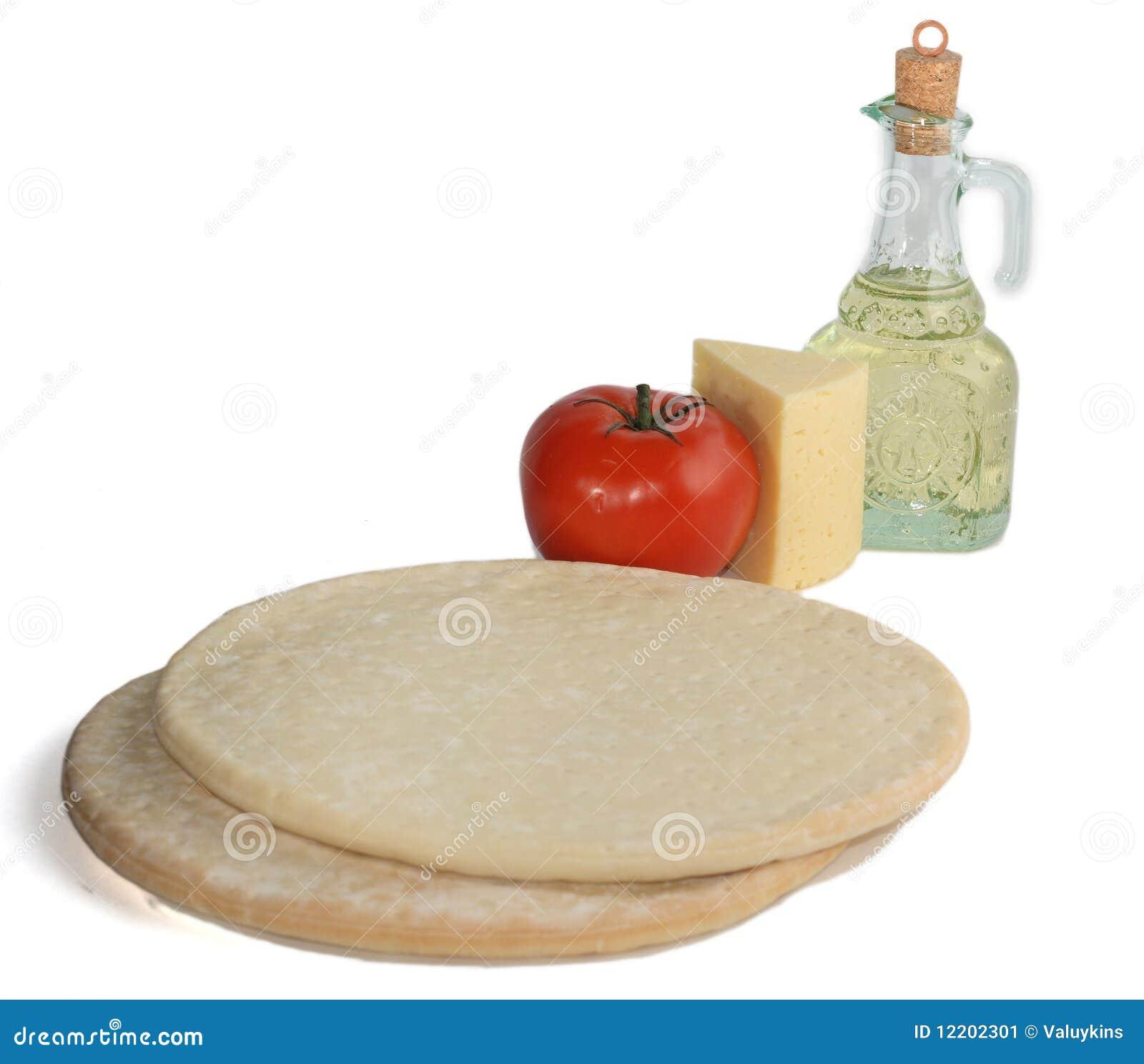 Pizzabestandteile