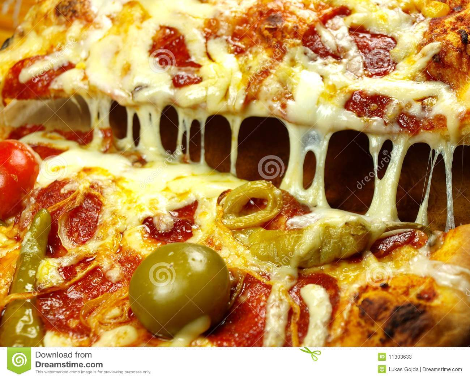 Pizzanahaufnahme