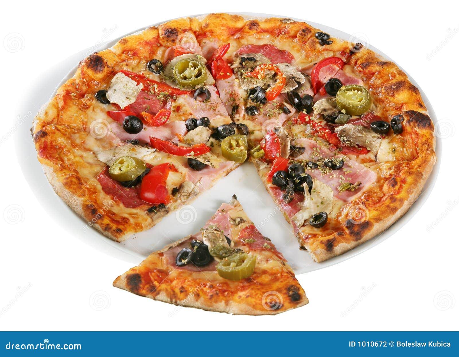 Pizzas délicieuses