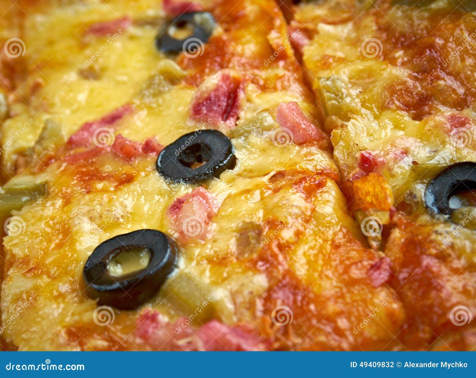 Download Pizzastreifen stockfoto. Bild von backen, pfeffer, gewürz - 49409832