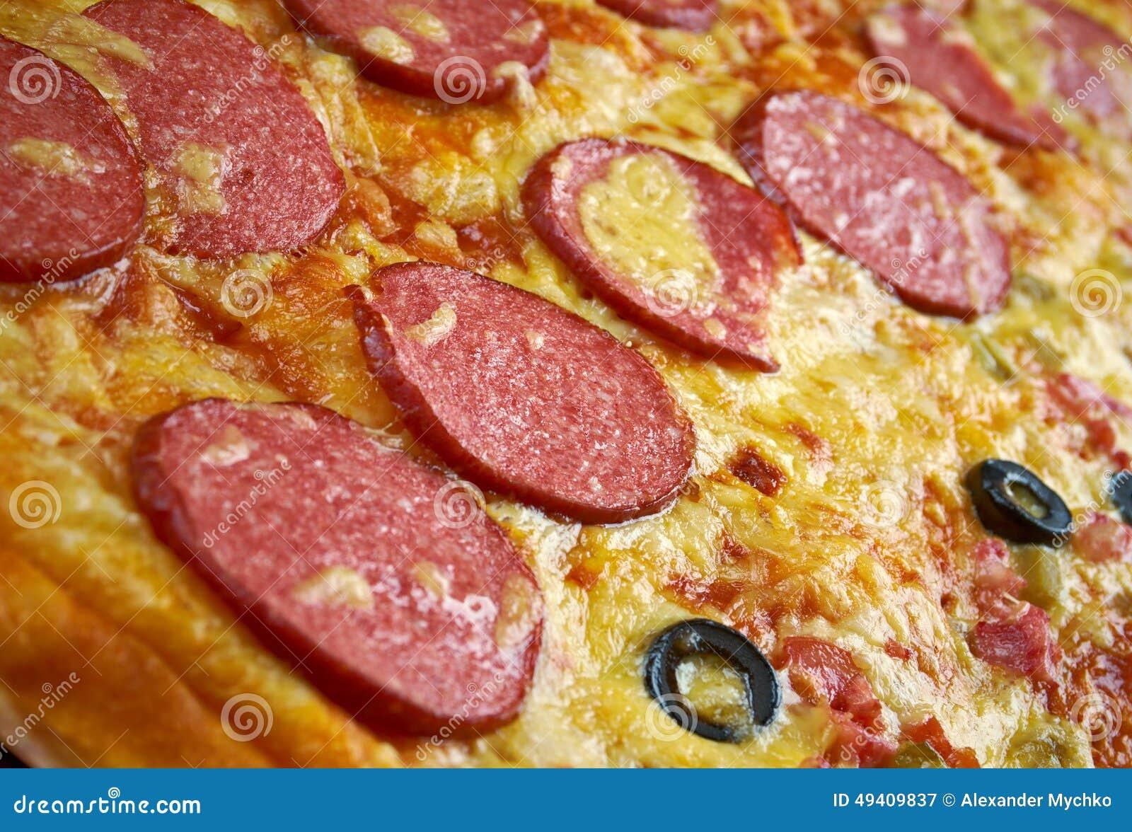 Download Pizzastreifen stockbild. Bild von pfeffer, streifen, gewürz - 49409837
