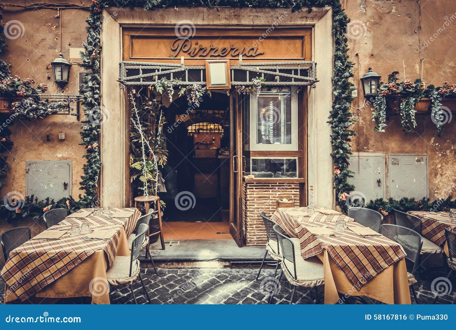 Italian Restaurant Peel Street