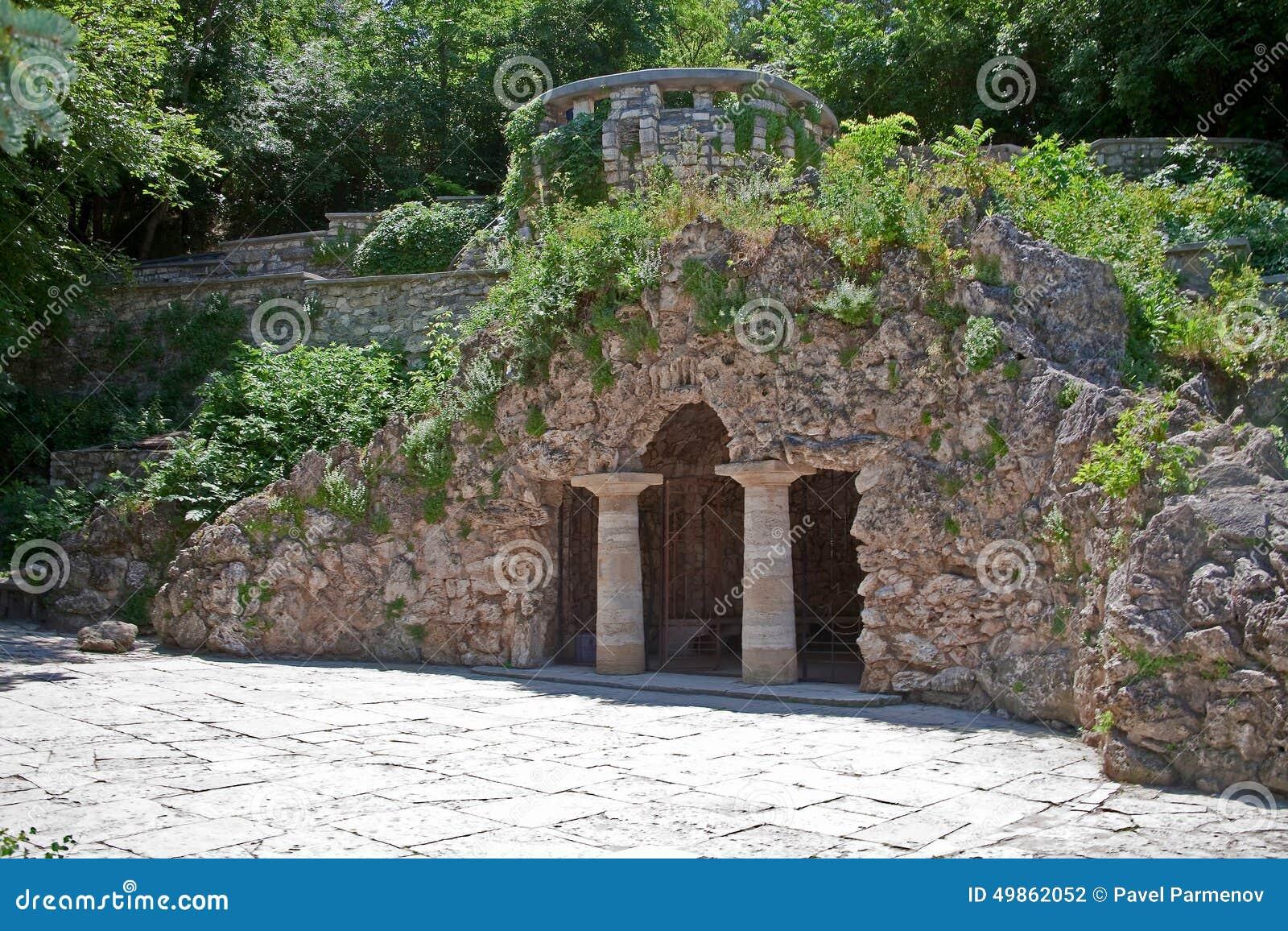 Pjatigorsk Parco del fiore Grotta di Diana