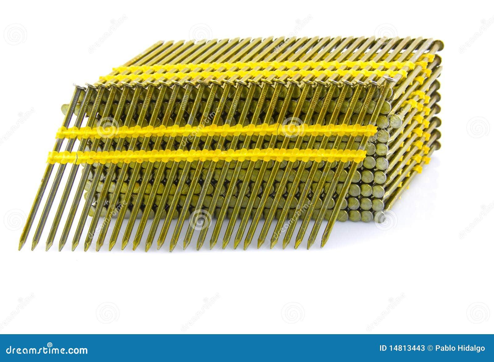 Plástico principal redondo pregos de quadro ordenados