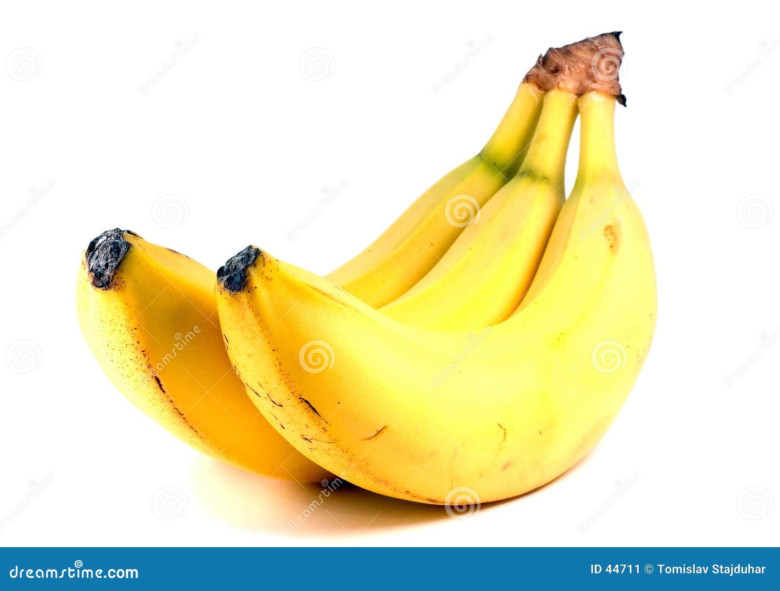 Download Plátano aislado imagen de archivo. Imagen de gusto, sano - 44711