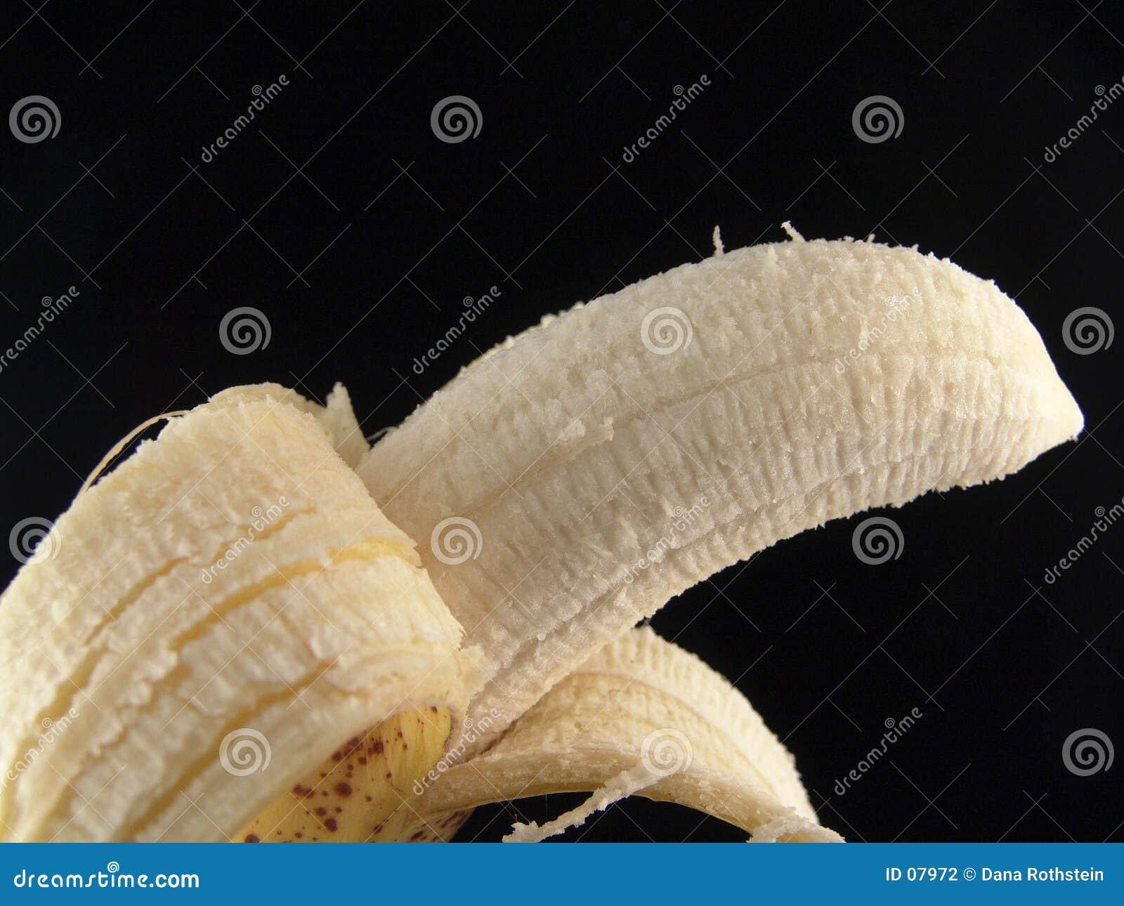 Plátano pelado