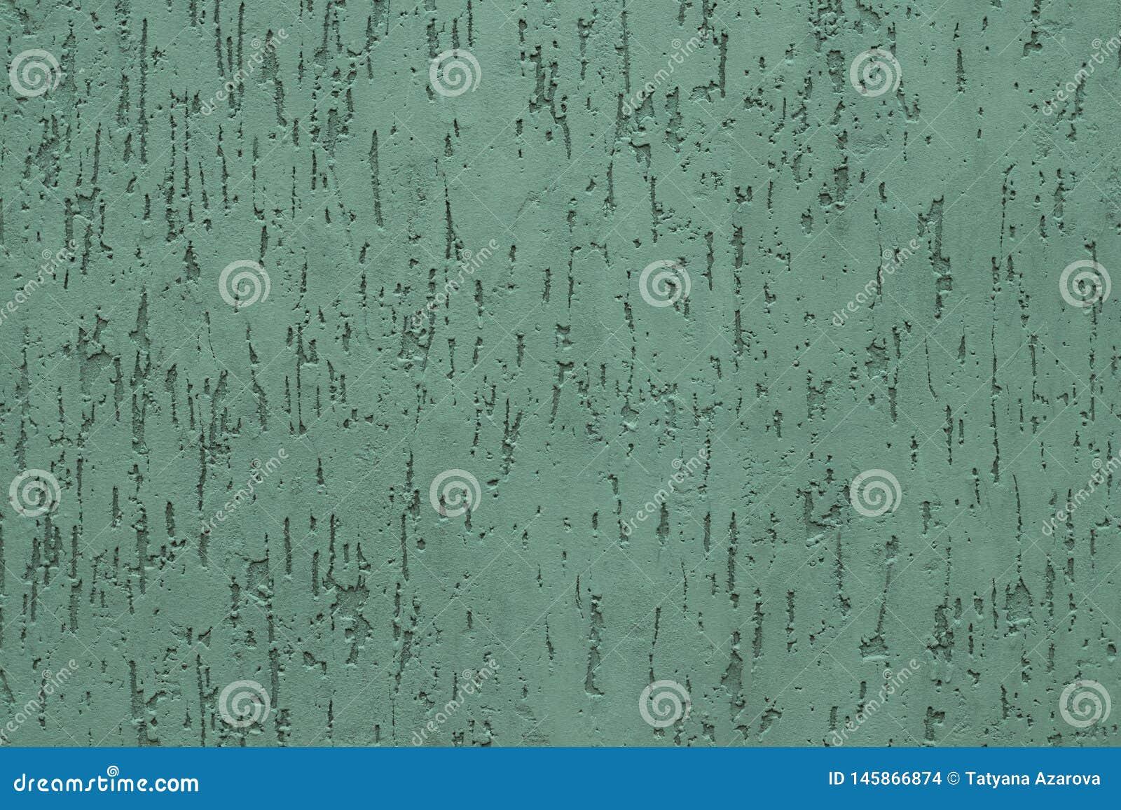 Plâtre Cannelé Vert Moderne De Mur En Béton Modèle Abstrait