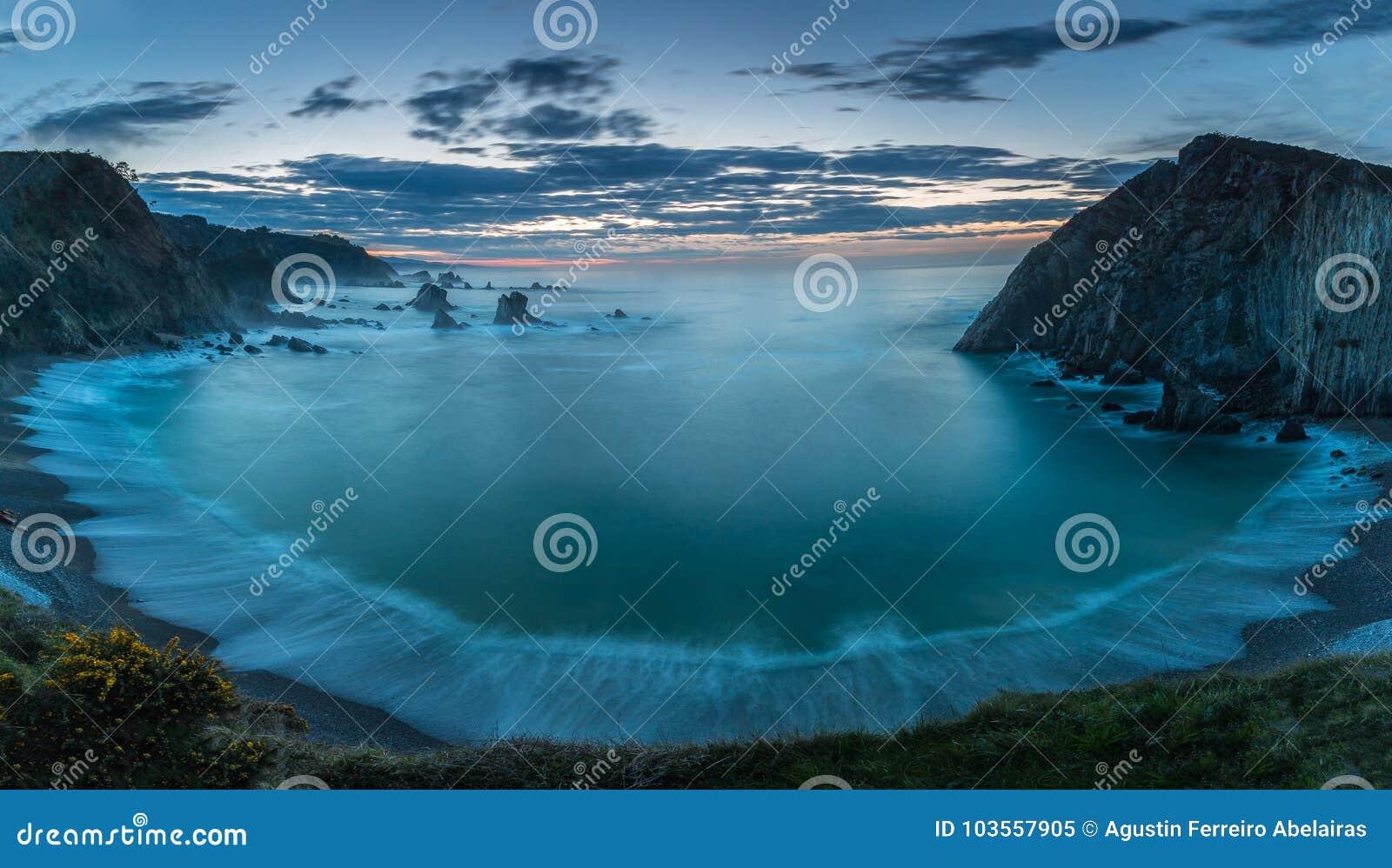 Plaża cisza