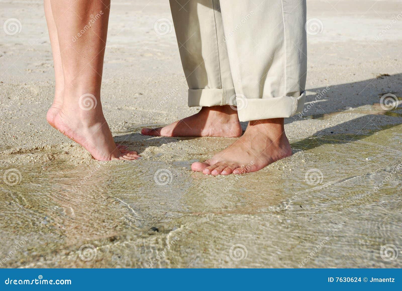 Plaża dobiera się cieków target1193_1_