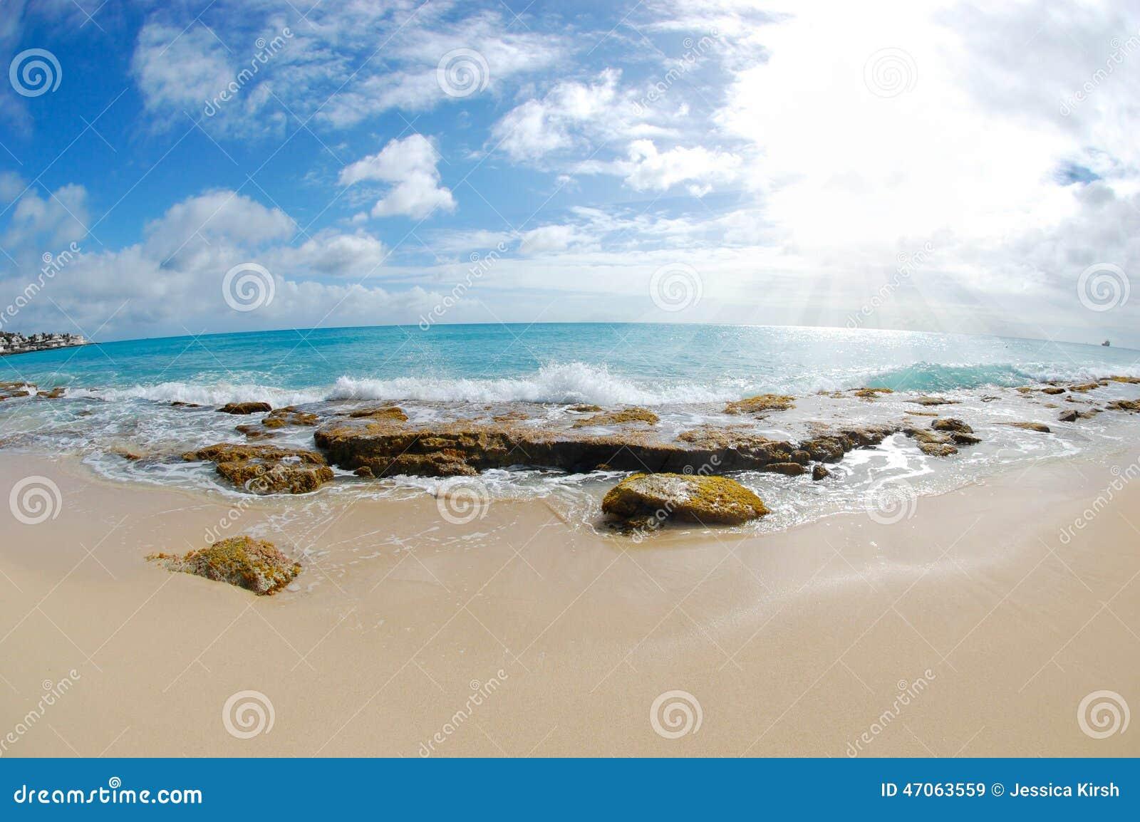 Plaża - Fisheye