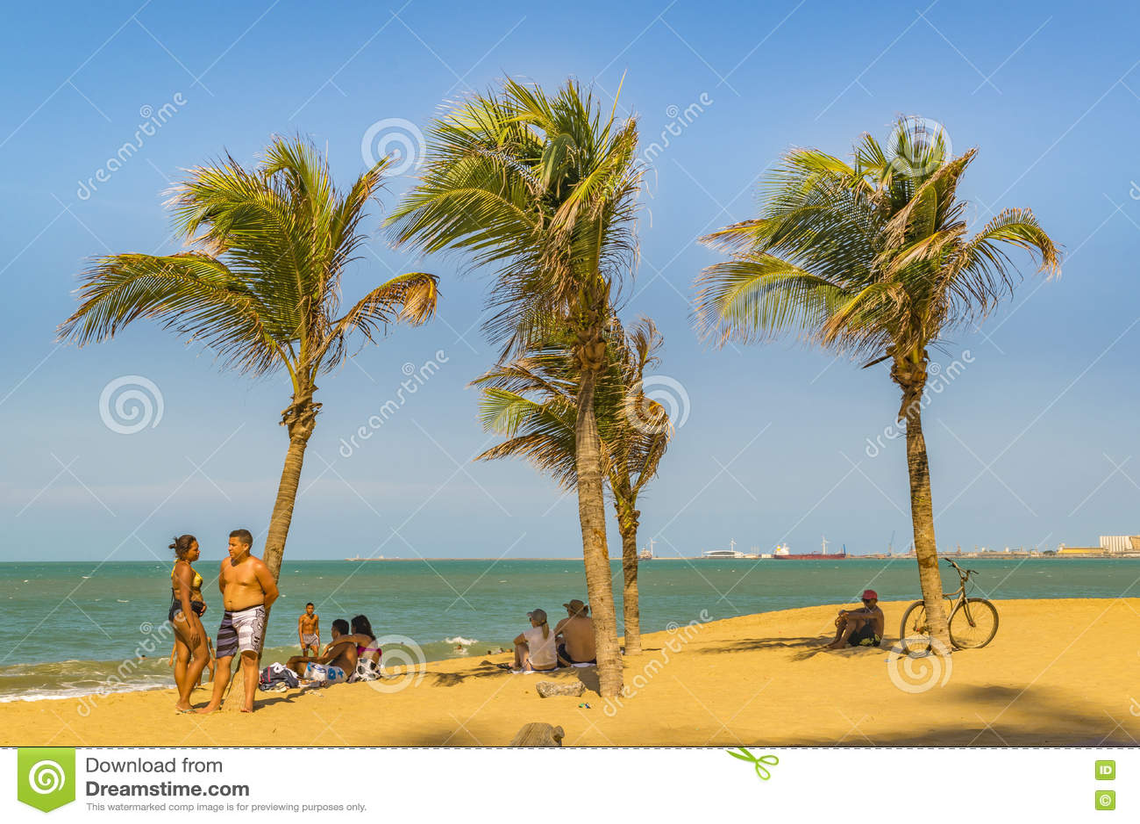 Plaża Fortaleza Brazylia