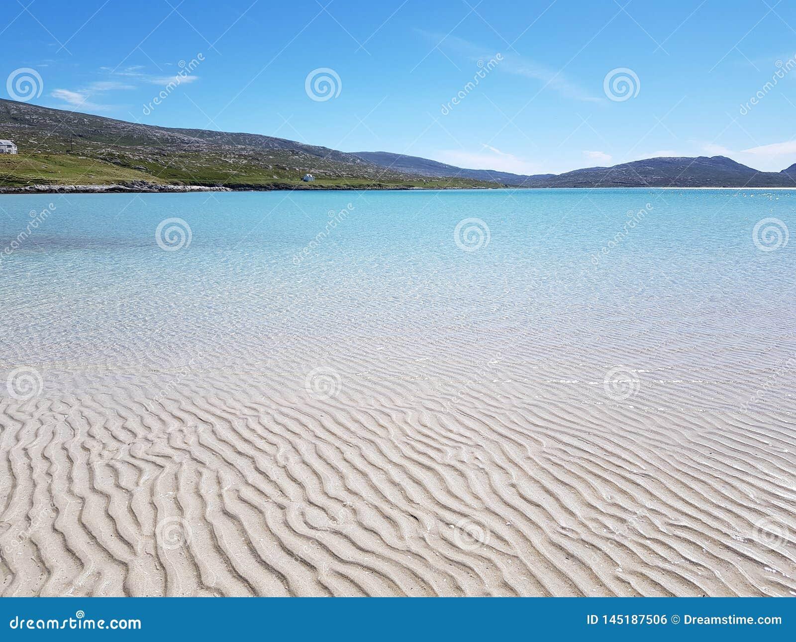 Plaża na wyspie Harris, Szkocja