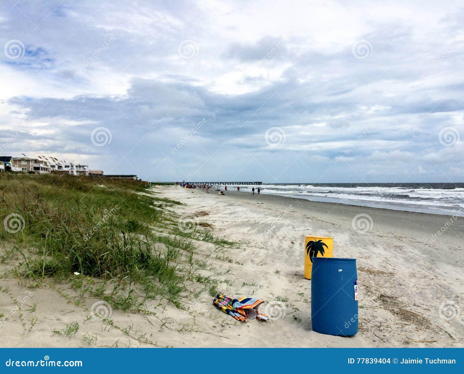 Plaża w południowym Carolina