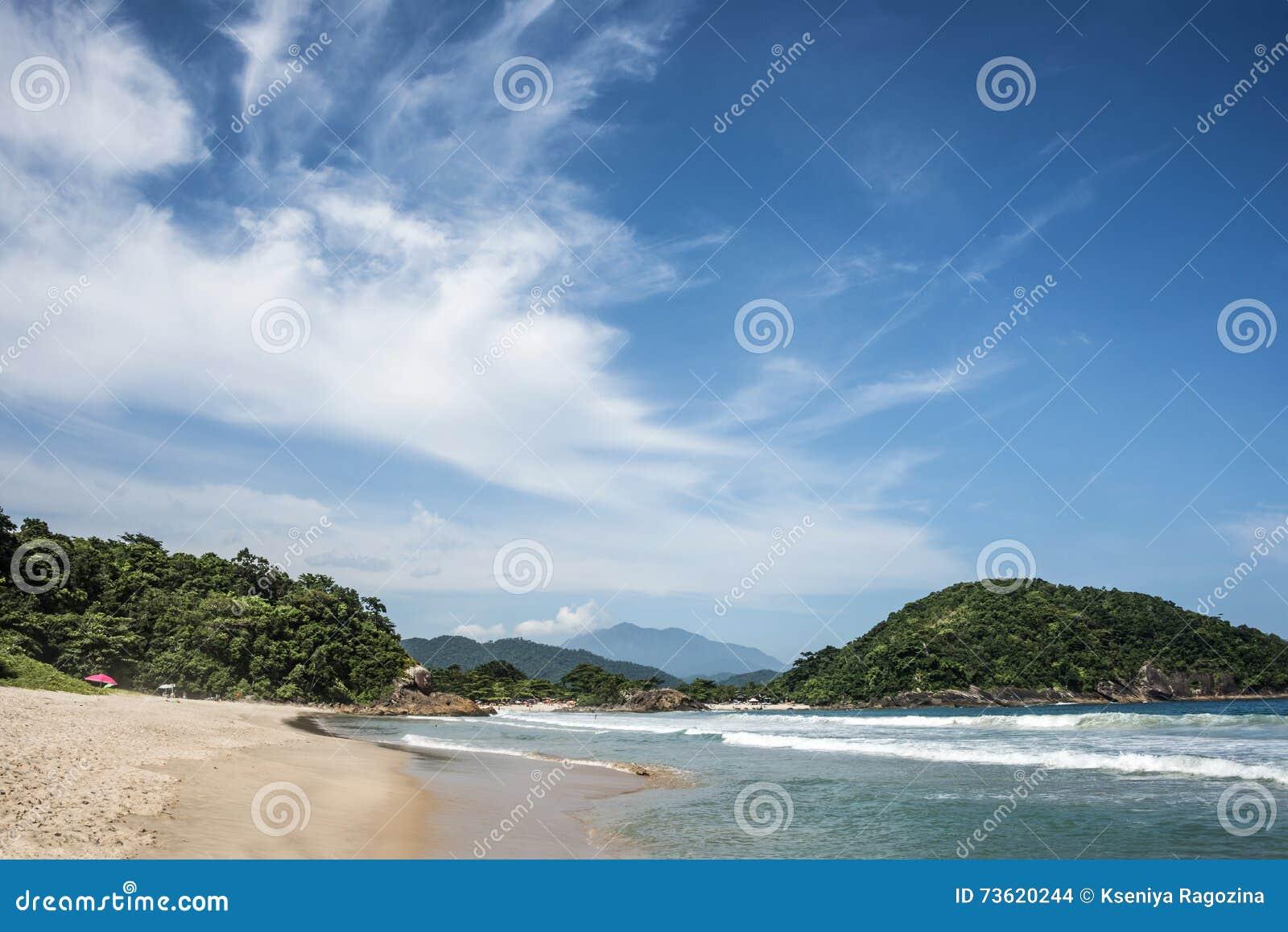Plaża w Trinidade, Paraty -, Rio De Janeiro