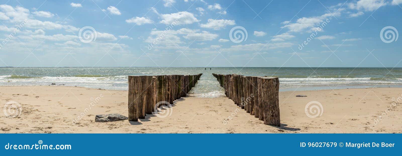 Plaża, Zeeland