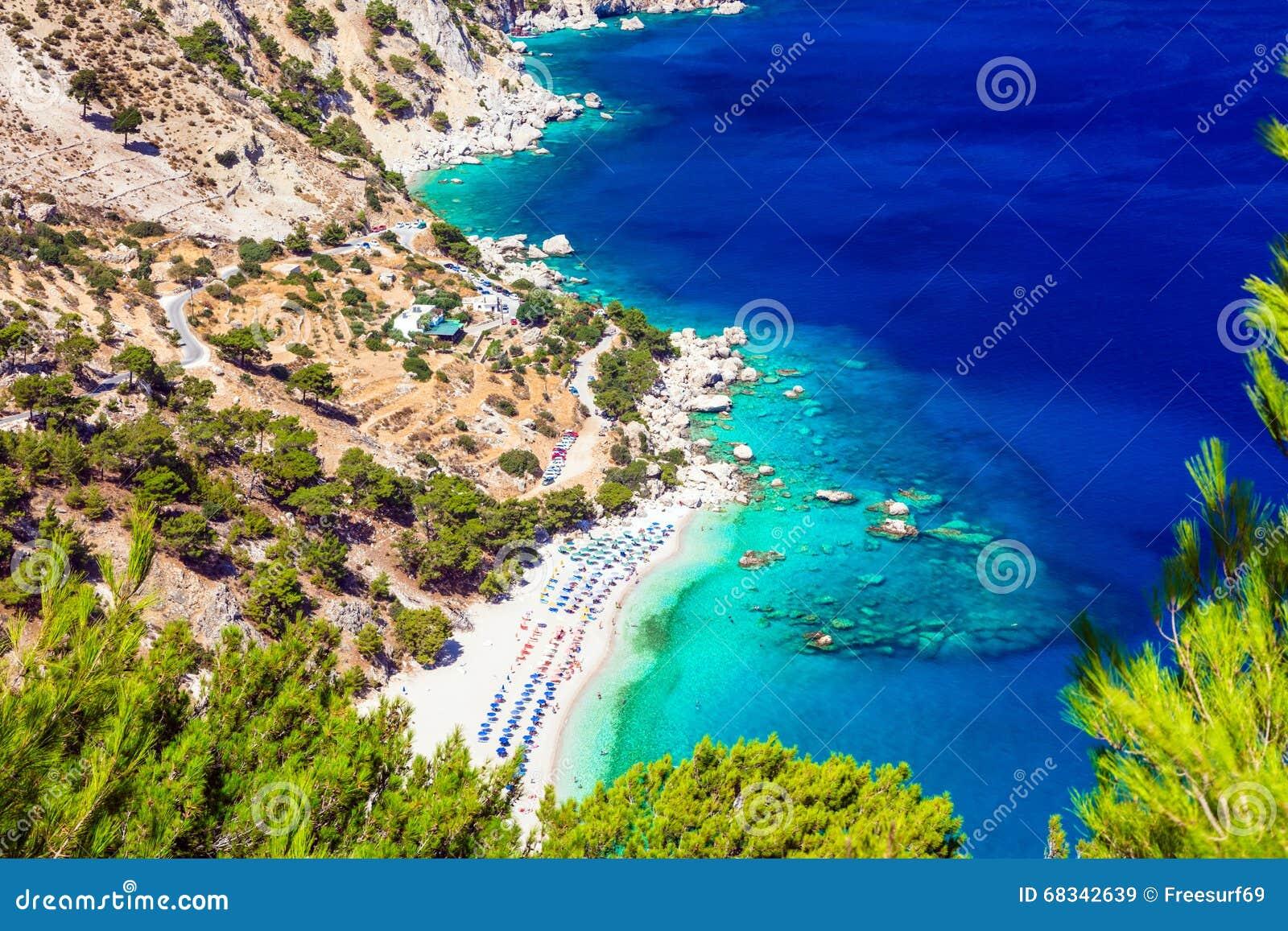 Plaże Grecja, Apella w Karpathos -