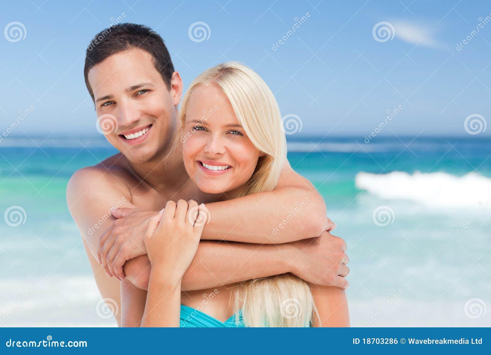 Plażowa para