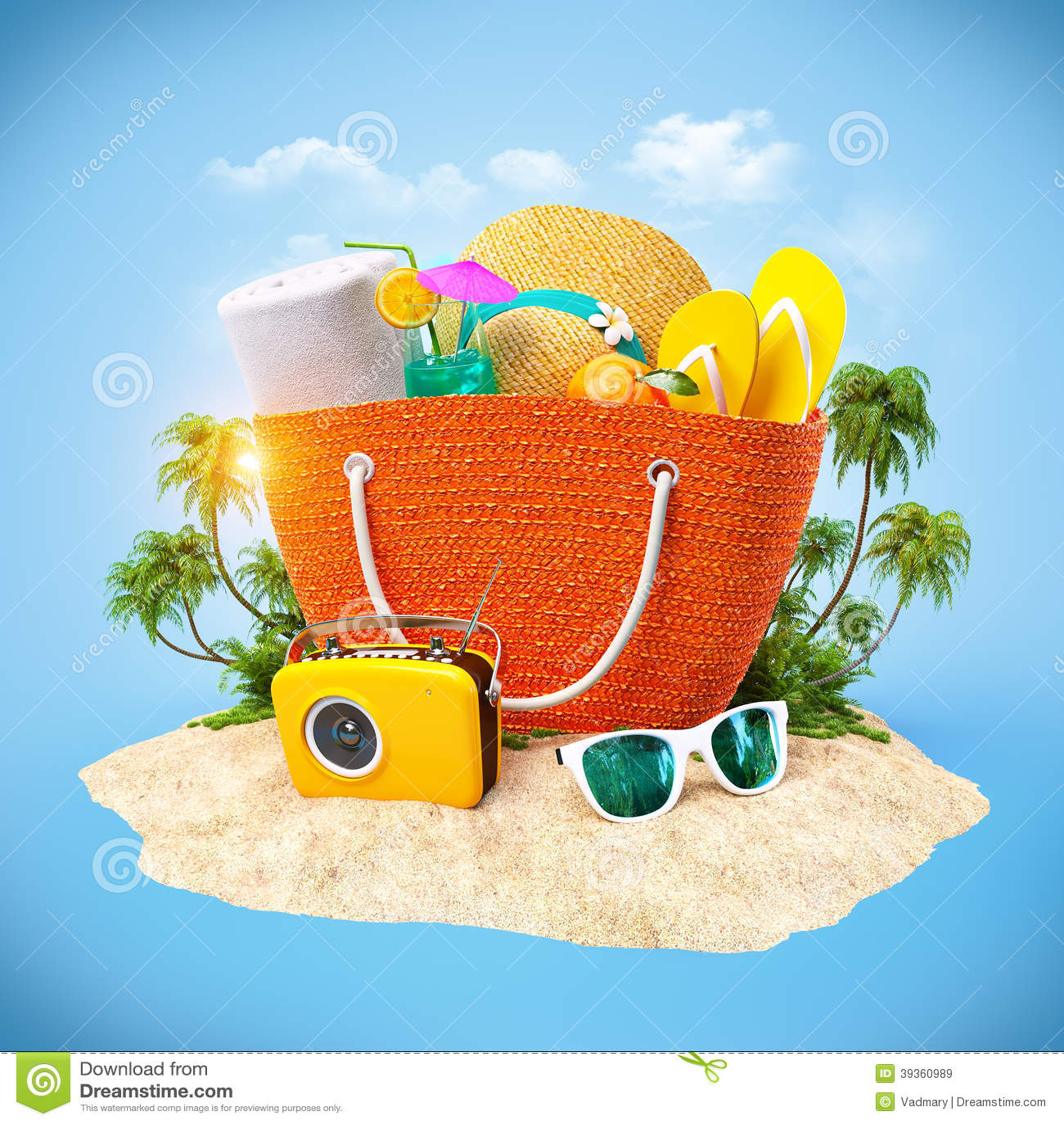 Plażowa torba