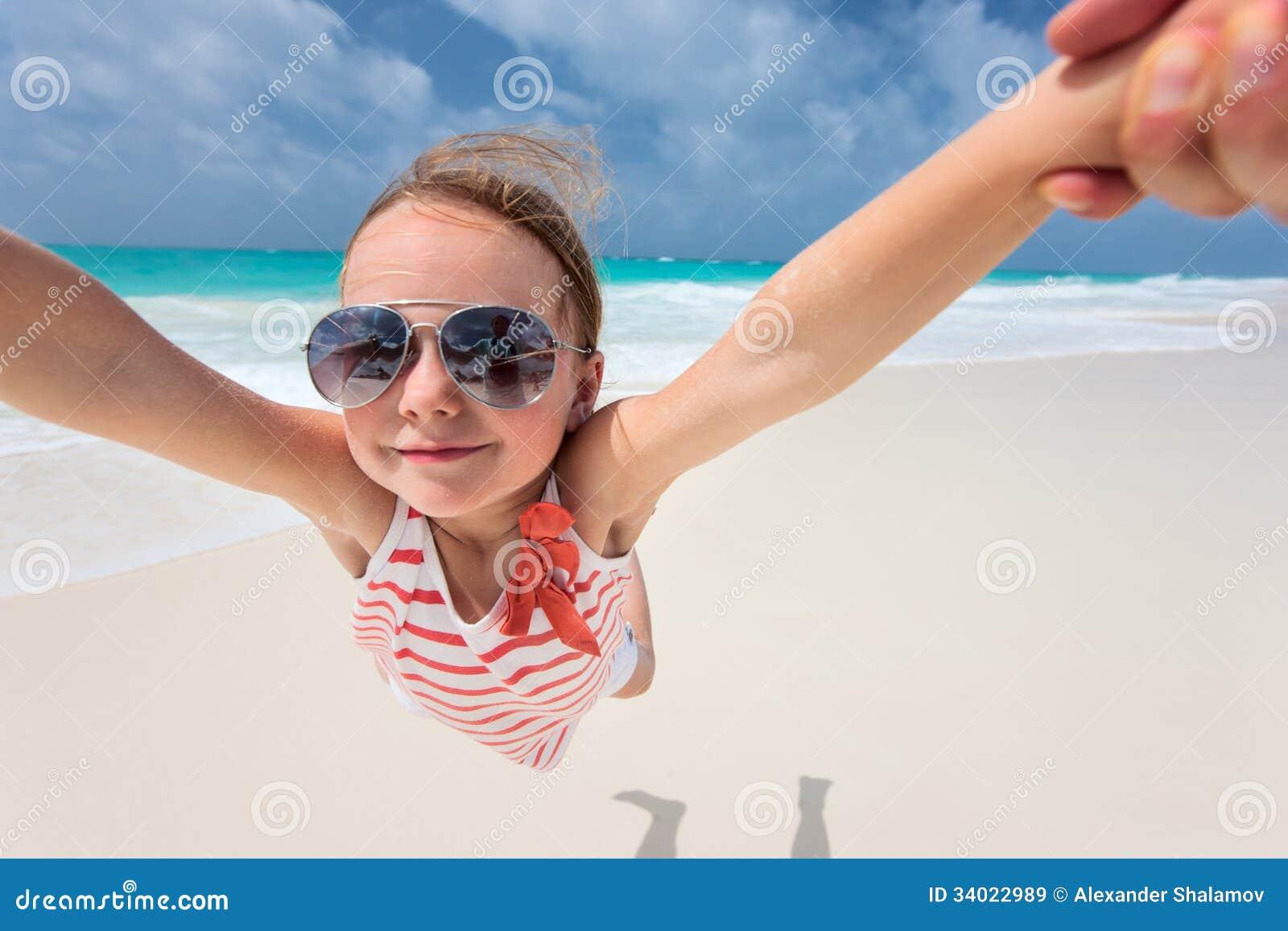 Plażowa zabawa