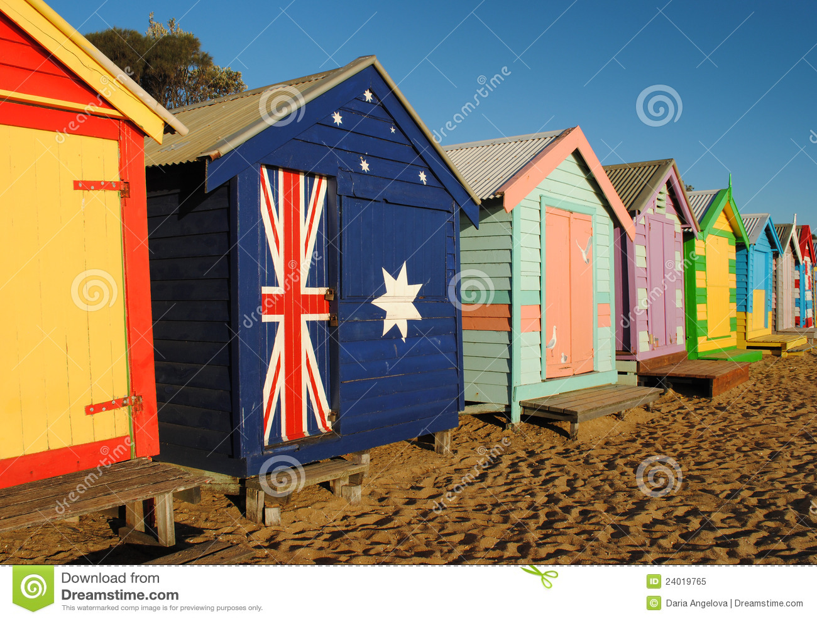 Plażowe kabiny Melbourne