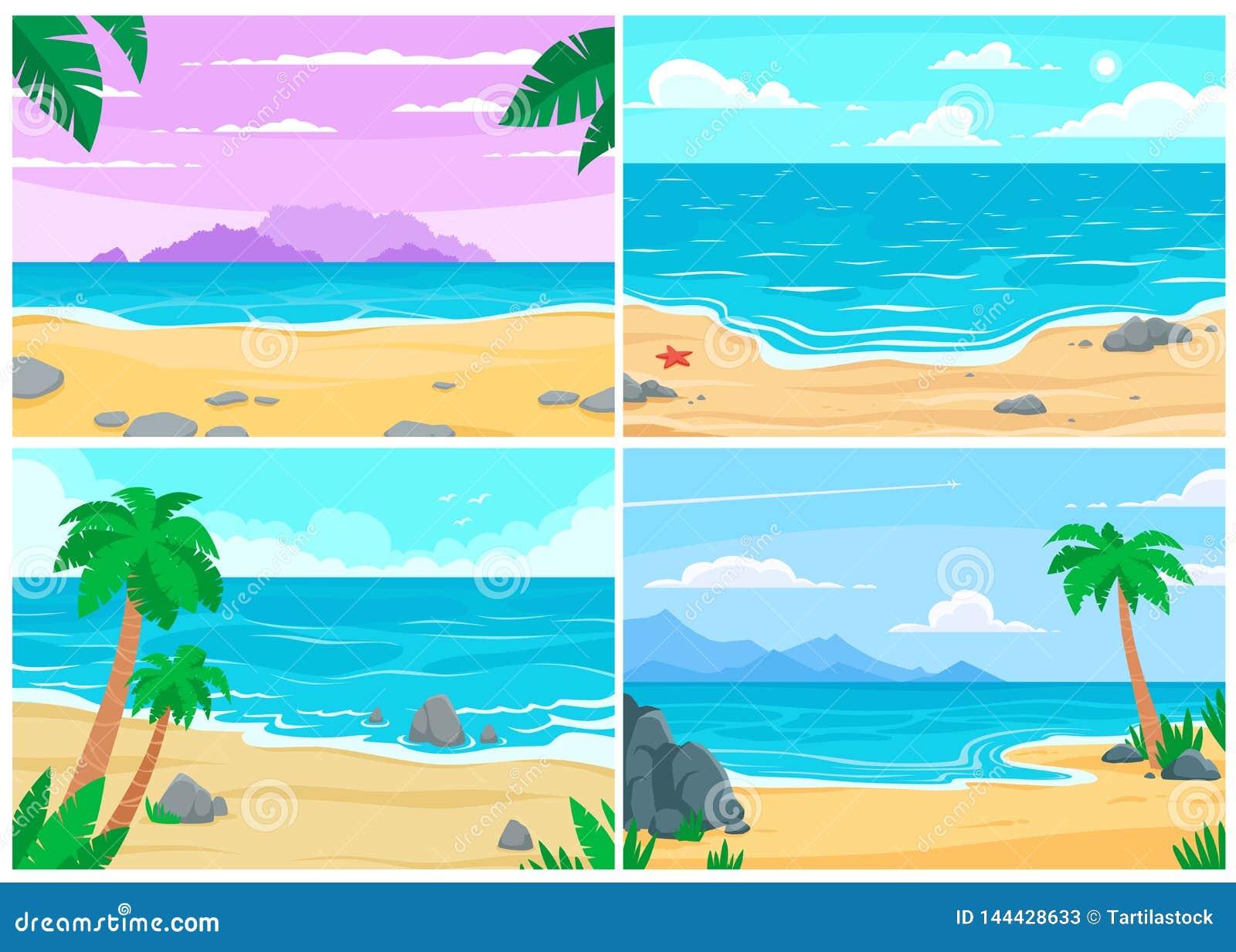 Plażowej brzegowej cibory śródziemnomorska piaska kamieni lato kipiel Ocean, denny brzeg, plaże krajobrazowe lub dziennej piasek