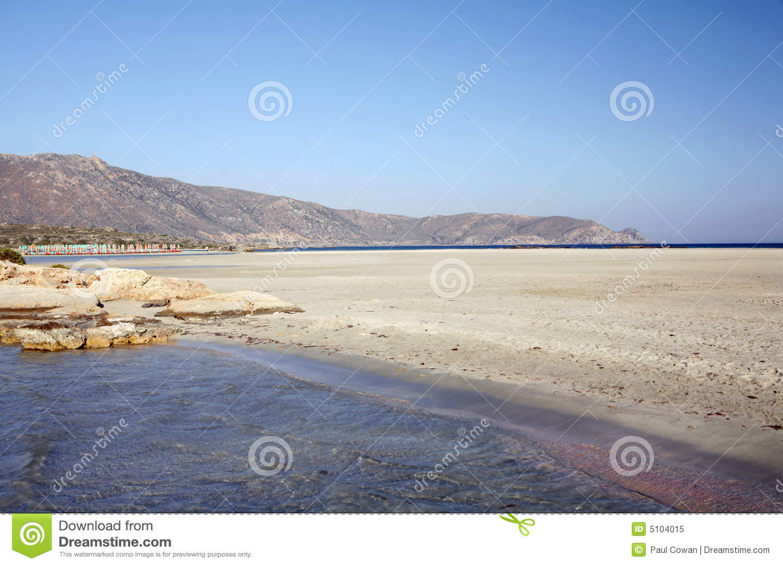 Plażowi Krety elafonissos