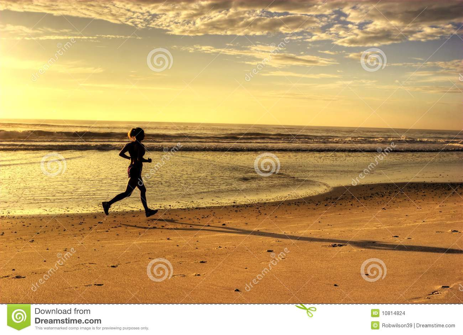 Plażowy bieg
