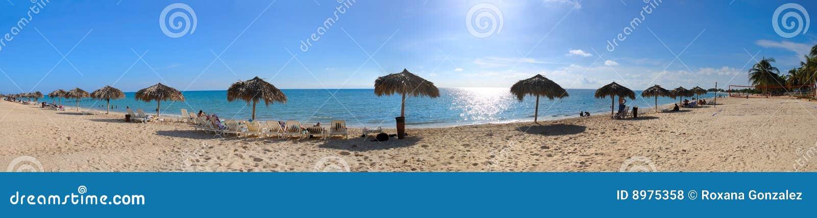 Plażowy kubański tropikalny