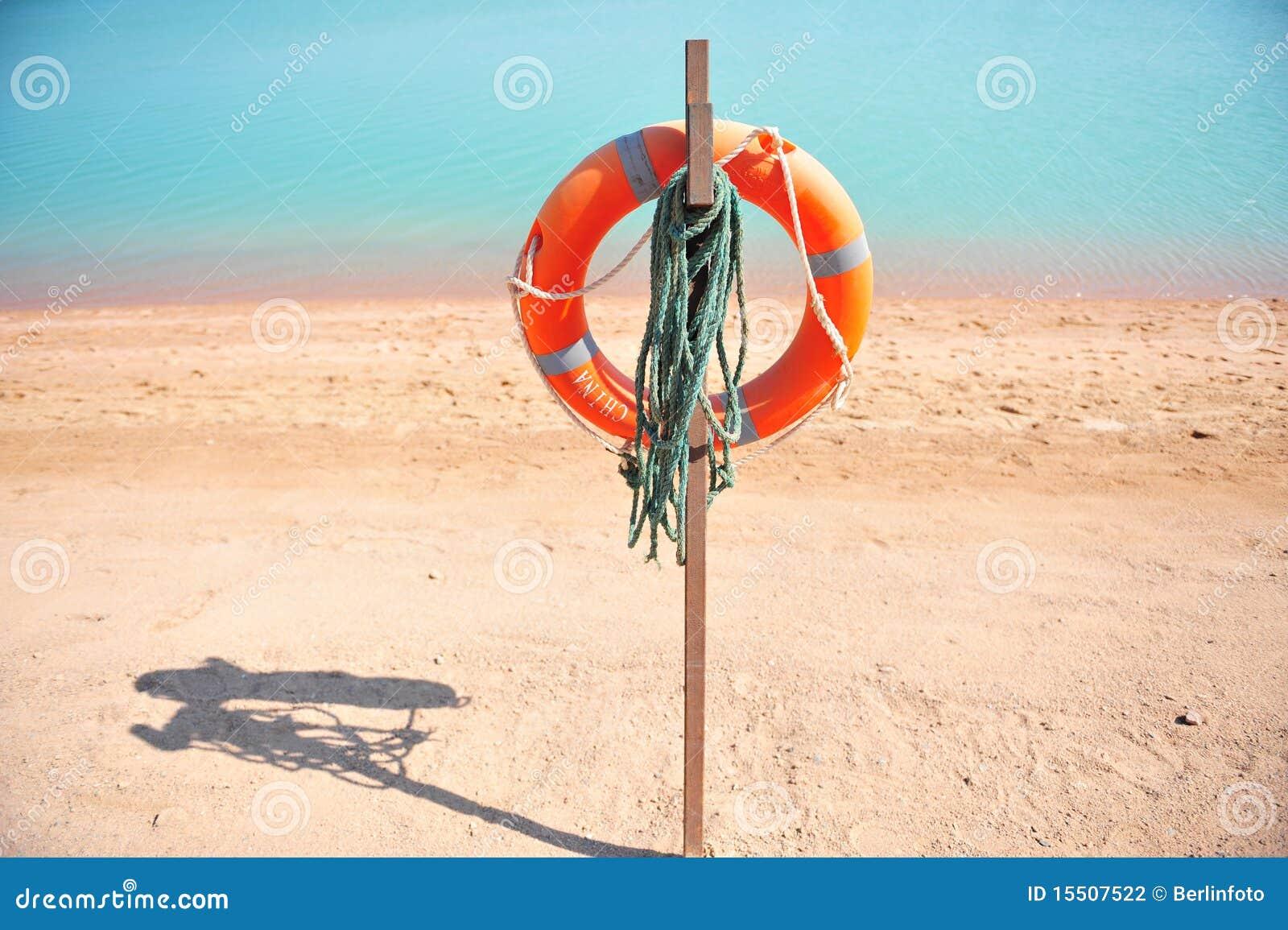 Plażowy lifebuoy