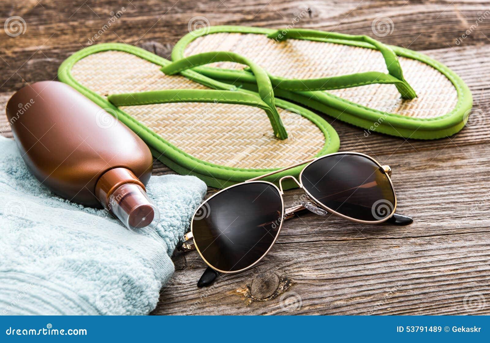 Plażowy materiał