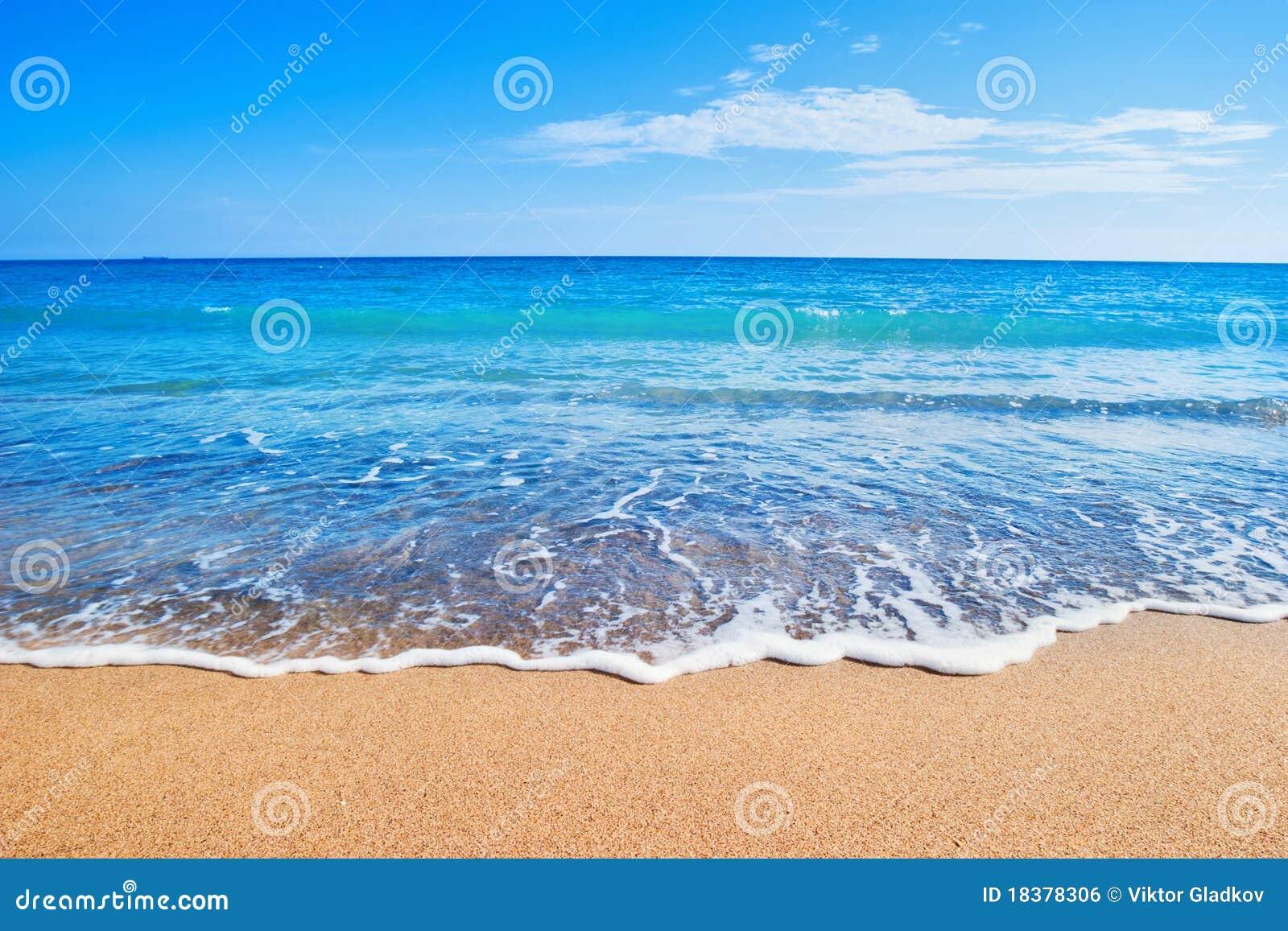 Plażowy morze