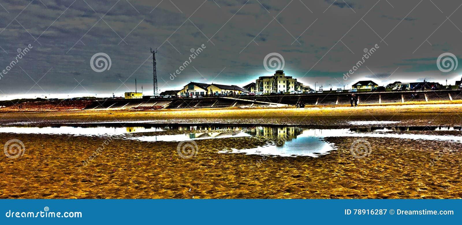 Plażowy odbicie