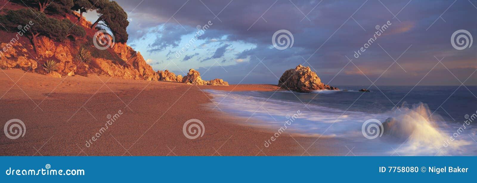 Plażowy panoramiczny spanish