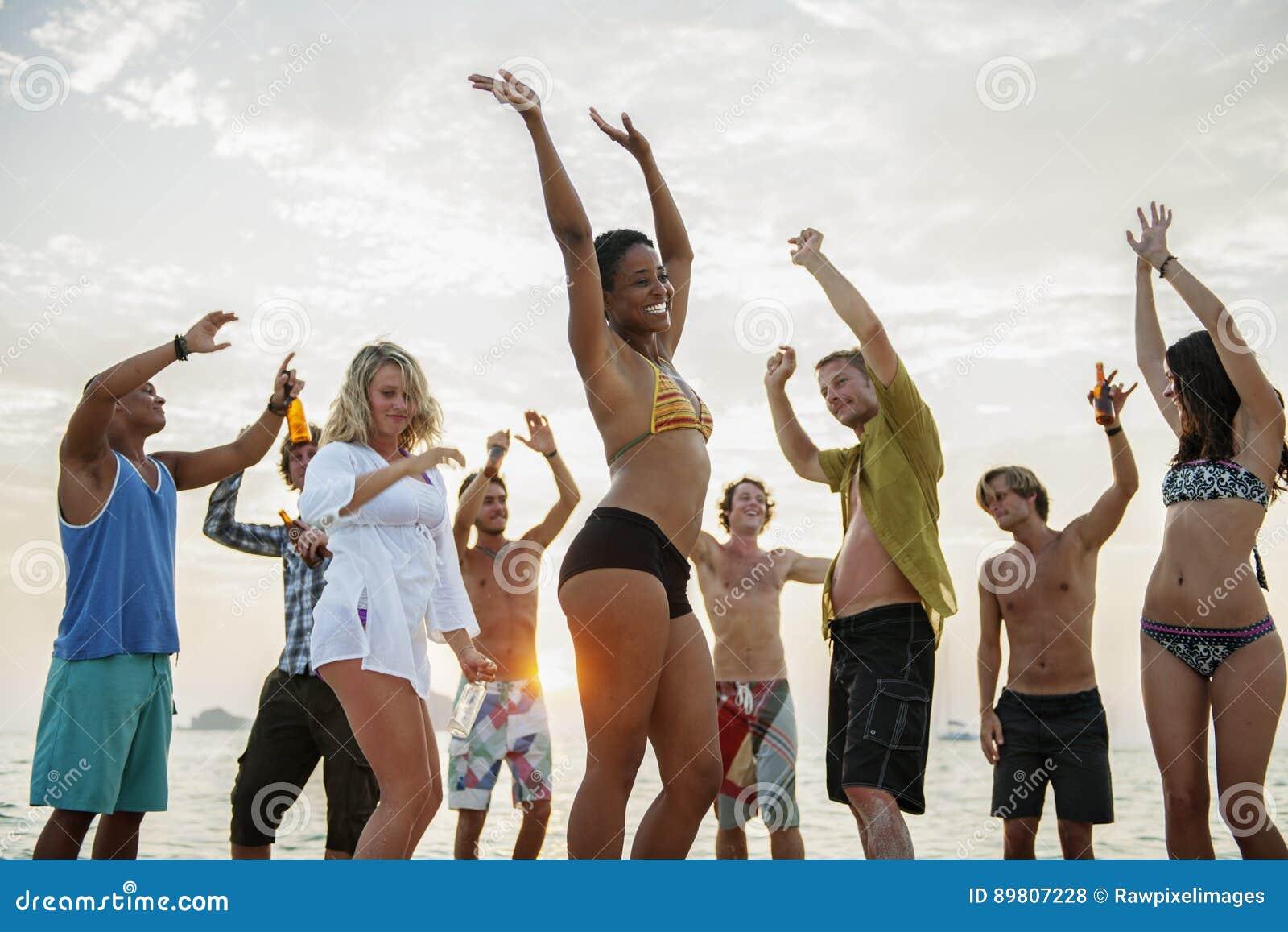 Plażowy Partyjny wolność wakacje czasu wolnego aktywności pojęcie