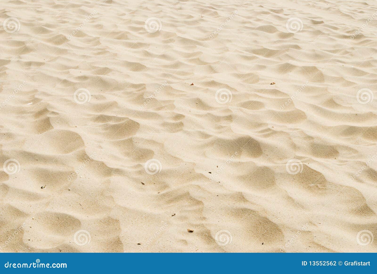 Plażowy piasek