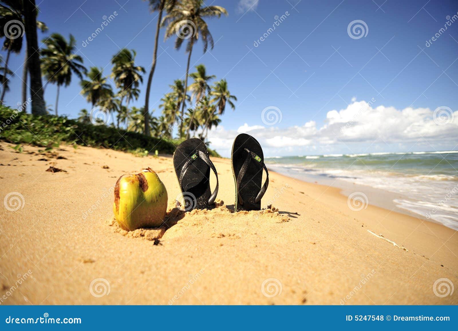 Plaży bahia br raju