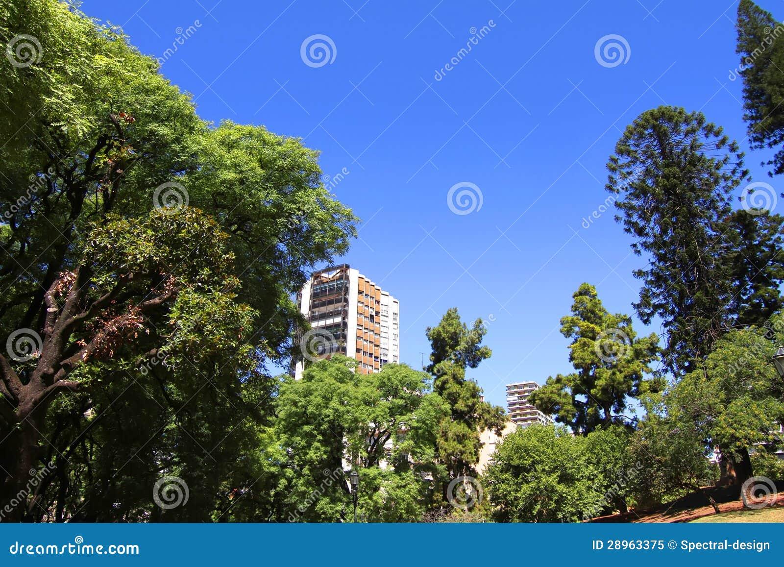Plac Barrancas De Belgrano w Buenos Aires