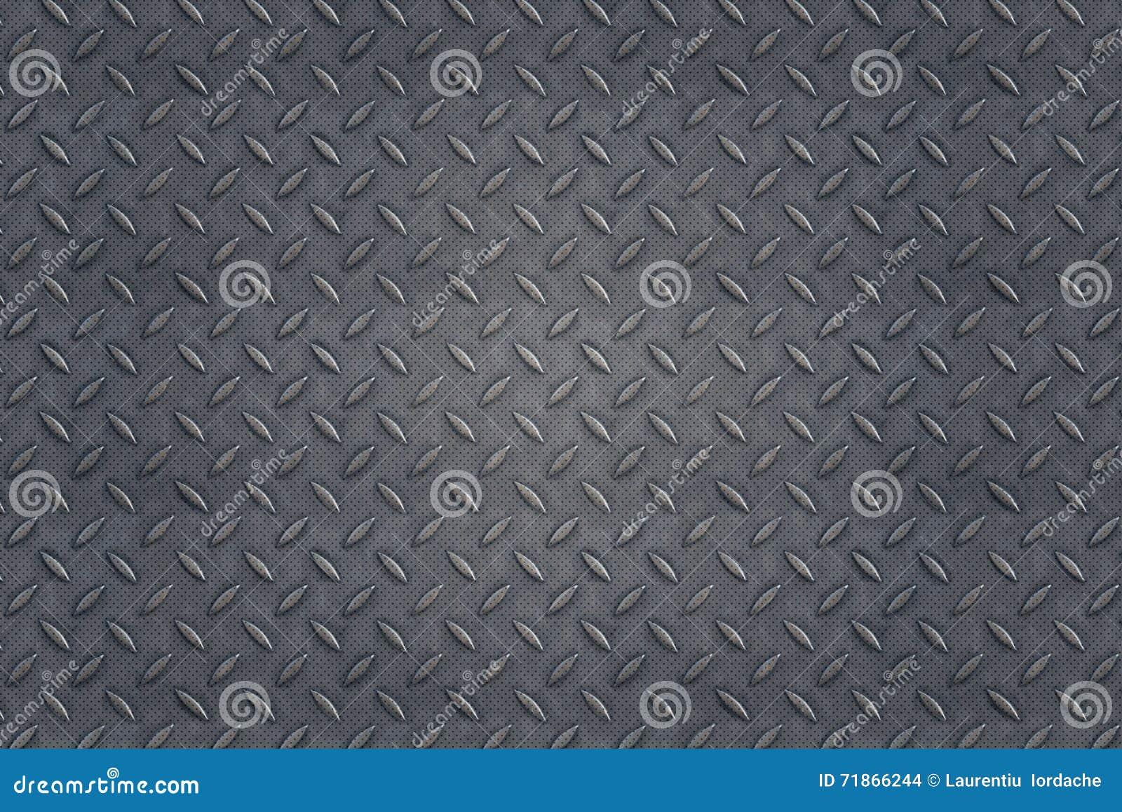 Placa de acero del metal