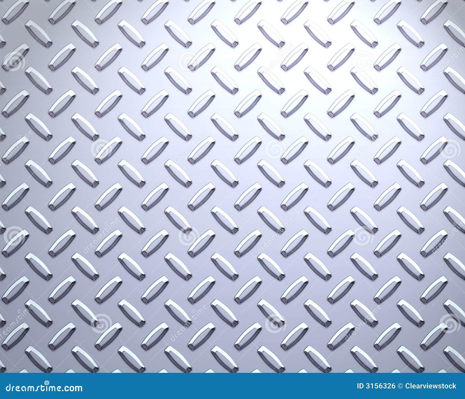 Placa de acero fuerte del diamante imagen de archivo libre for Placa de acero