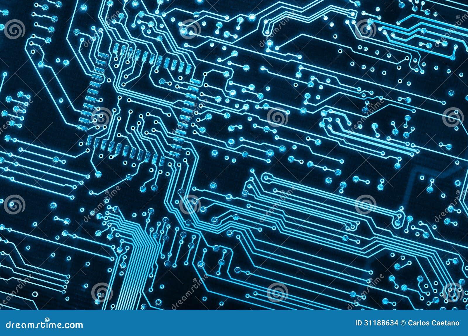 Placa De Circuito Foto De Stock Imagem De Circuito Micro 31188634