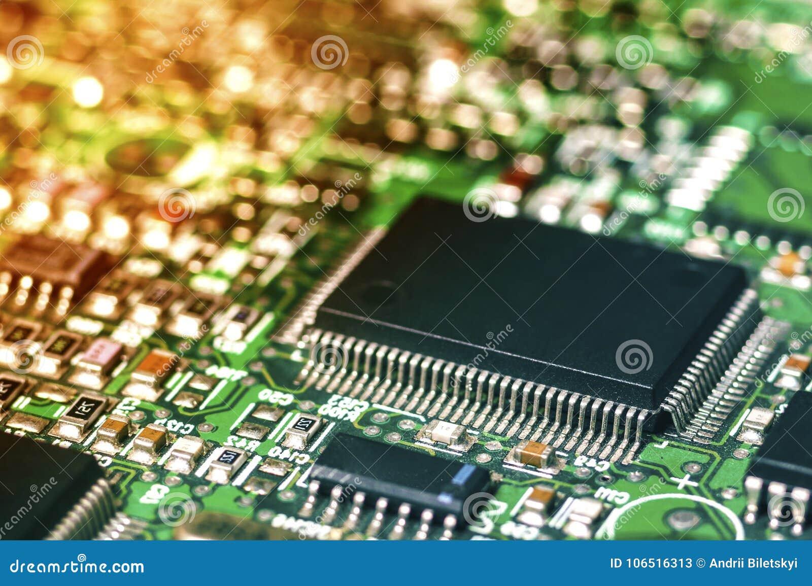 Placa de circuito Tecnologia de material informático eletrônica Motherbo