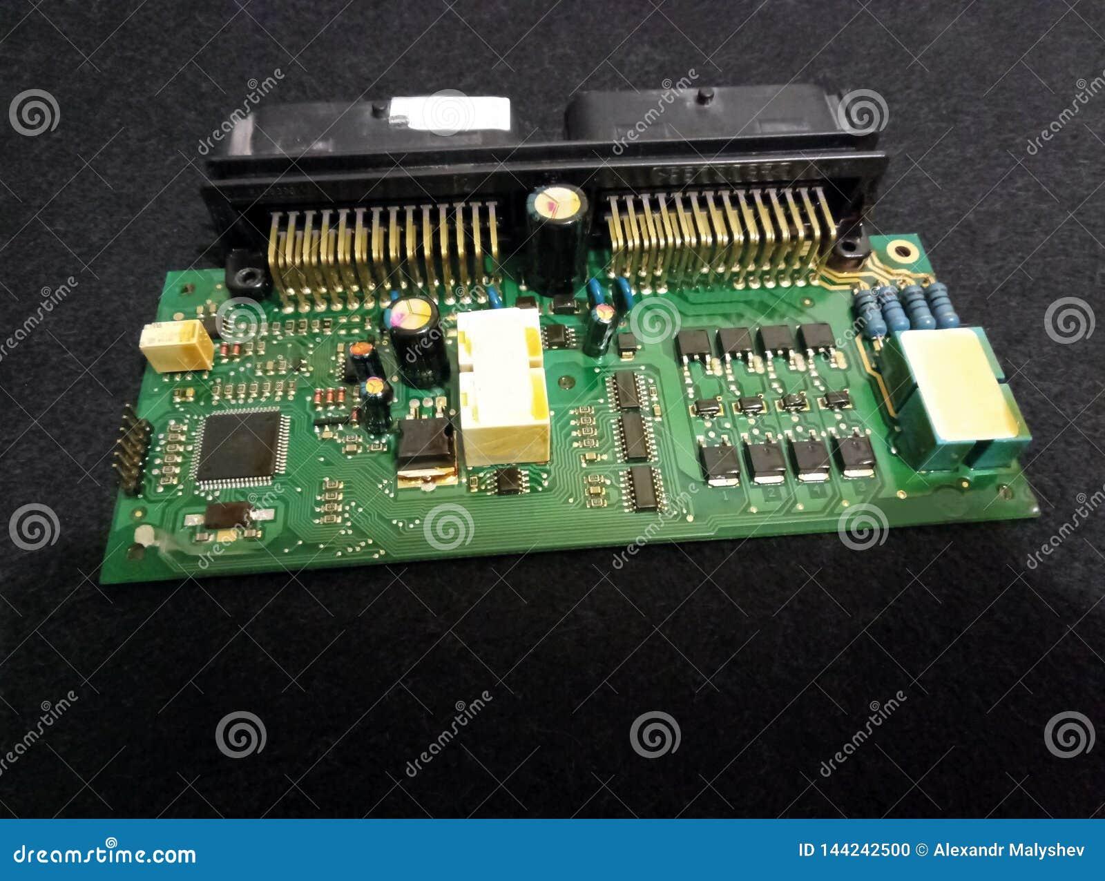 Placa de controlador eletrônico