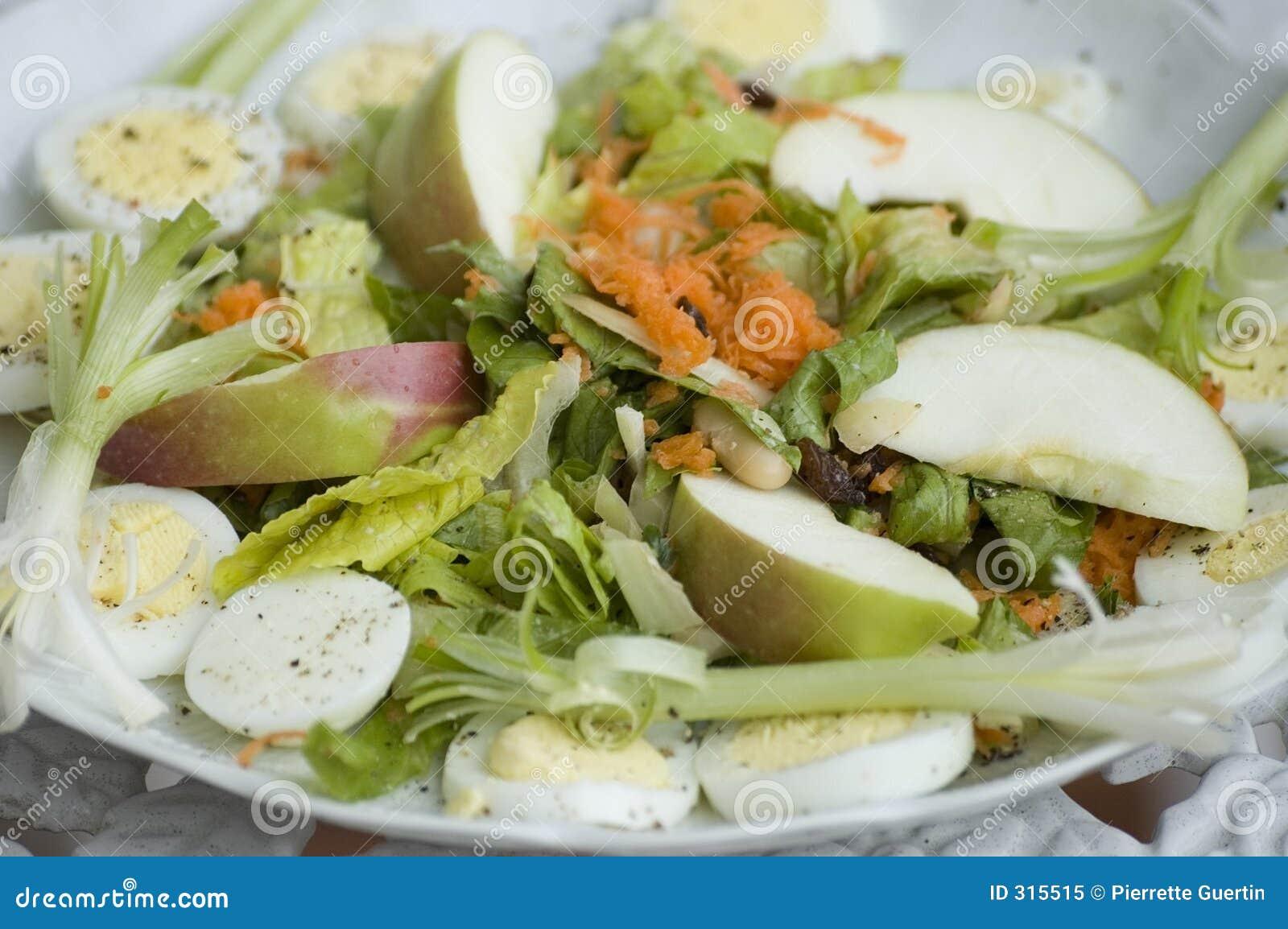 Placa de ensalada