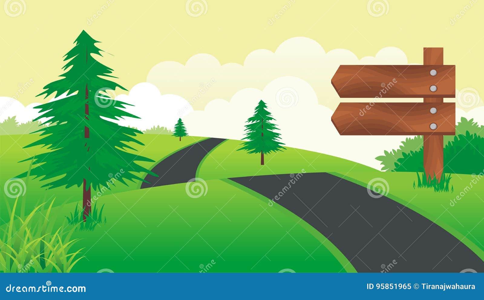 Placa de madeira do sinal