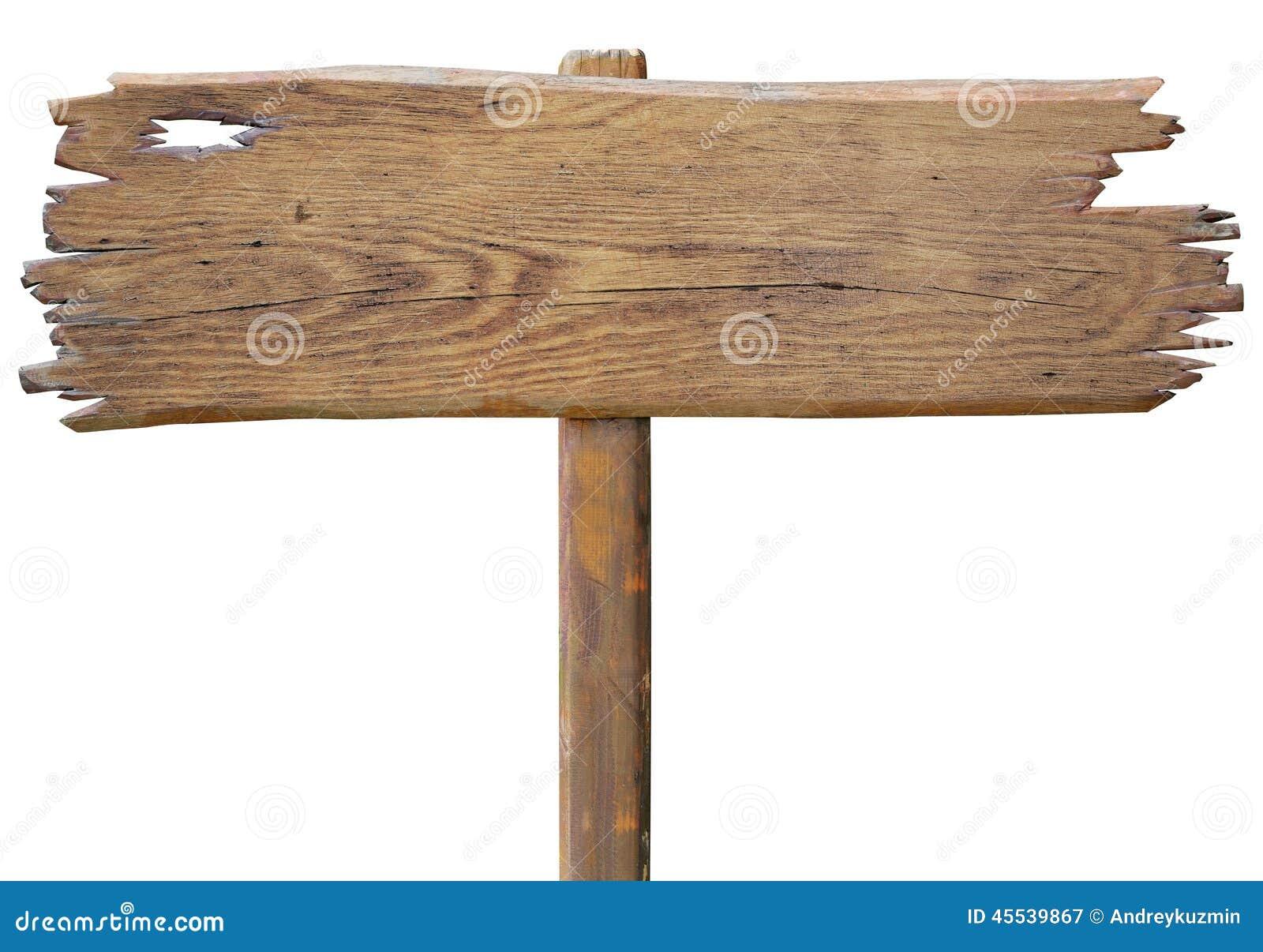 placa de madeira velha do sinal de estrada isolada no. Black Bedroom Furniture Sets. Home Design Ideas