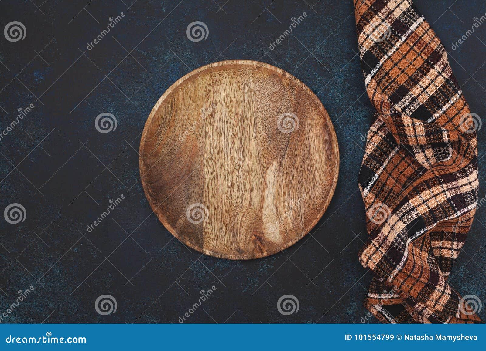 Placa de madera vacía